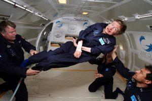 Stephen Hawking ci ha lascito.  Rimane il suo messaggio per chi soffre di depressione.